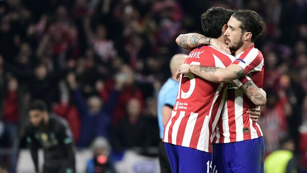 Sime Vrsaljko del Club Atlético de Madrid, 18 de febrero del 2020 - Sputnik Mundo