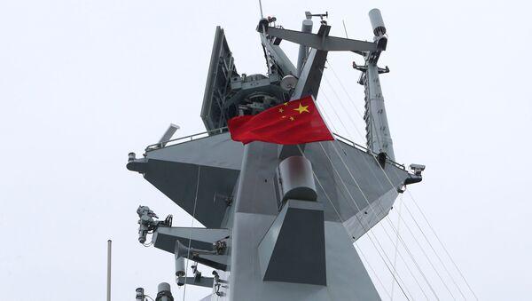 Una embarcación de la Armada de China (archivo) - Sputnik Mundo