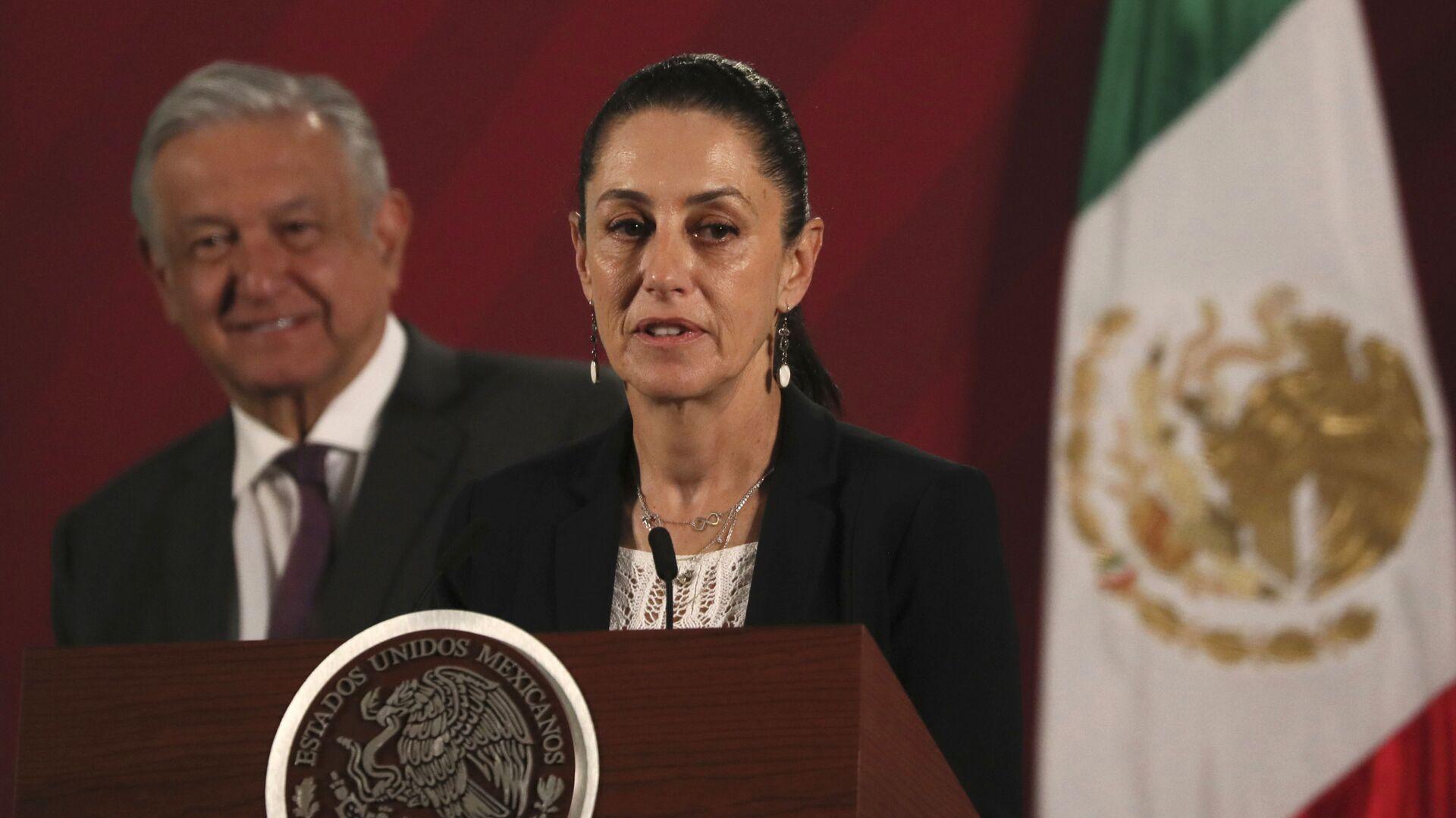 Claudia Sheinbaum, alcaldesa de la Ciudad de México - Sputnik Mundo, 1920, 21.09.2021