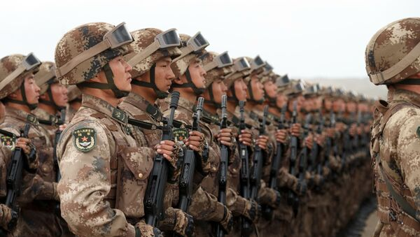 Soldados chinos (archivo) - Sputnik Mundo