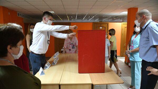 Elecciones en Bielorrusia - Sputnik Mundo