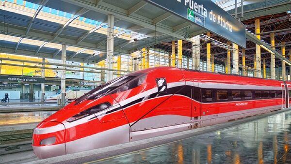 Hitachi y Bombardier se adjudican el contrato para el suministro de 23 trenes Frecciarossa - Sputnik Mundo