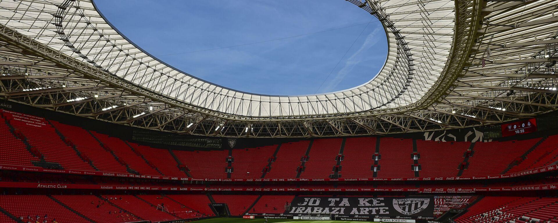 Foto del estadio San Mamés en Bilbao - Sputnik Mundo, 1920, 18.03.2021