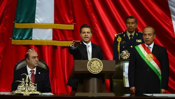 Expresidentes de México, Enrique Peña Nieto y Felipe Calderón - Sputnik Mundo