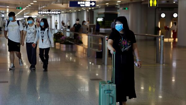 Aeropuerto de Pekín - Sputnik Mundo