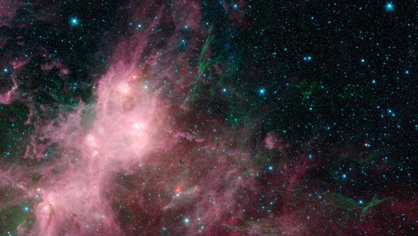 Los restos de una estrella que explotó en una supernova (archivo) - Sputnik Mundo
