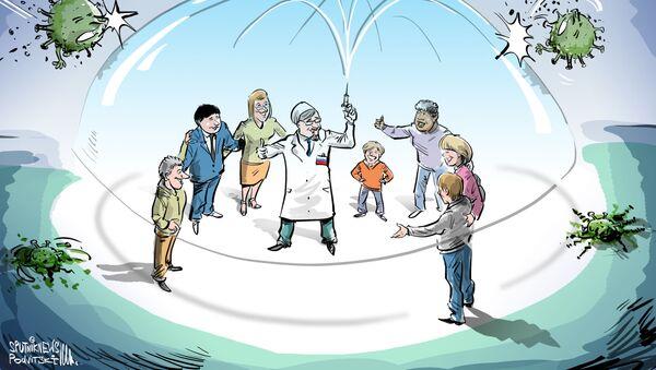La vacuna rusa Sputnik V se producirá en Brasil - Sputnik Mundo