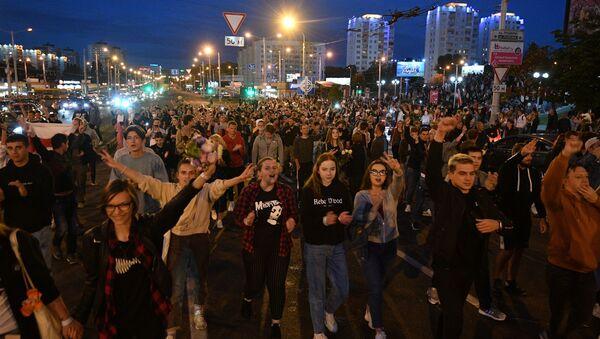 Protestas en Bielorrusia - Sputnik Mundo
