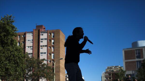 Pablo Iglesias, líder de Podemos. Barcelona, 2019 - Sputnik Mundo