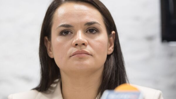 Svetlana Tijanóvskaya, candidata opositora a la presidencia de Bielorrusia - Sputnik Mundo
