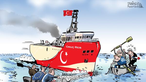 Políticos de EEUU llaman a sancionar a Turquía por sus planes en el Mediterráneo  - Sputnik Mundo
