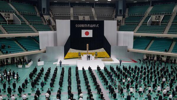 El emperador de Japón, Naruhito, conmemora el 75 aniversario de su rendición en la Segunda Guerra Mundial - Sputnik Mundo