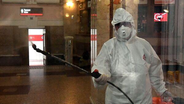 El coronavirus en Rusia - Sputnik Mundo