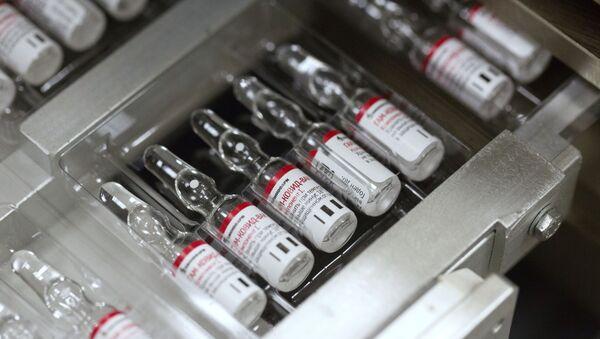 Producción de la vacuna rusa contra el COVID-19 - Sputnik Mundo