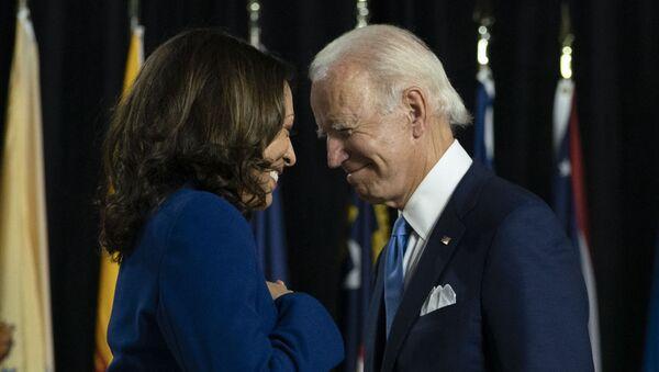 Kamala Harris y Joe Biden - Sputnik Mundo