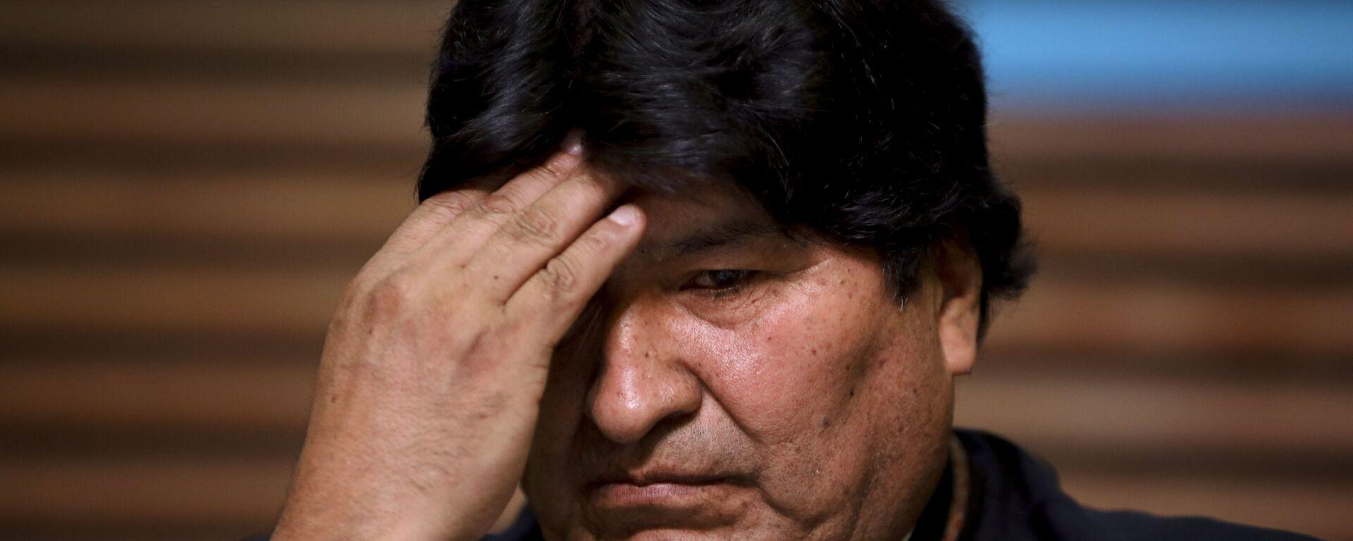 Evo Morales, expresidente de Bolivia - Sputnik Mundo, 1920, 25.03.2021