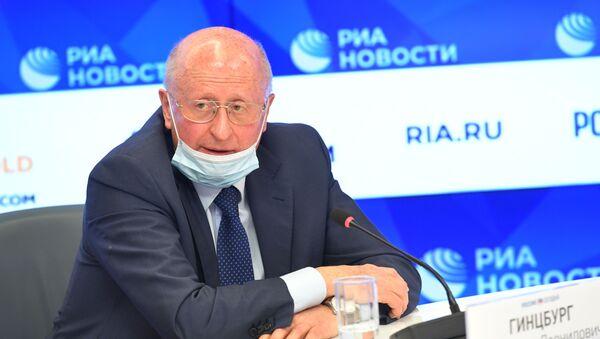 Alexandr Guíntsburg, director del Centro Gamaleya - Sputnik Mundo