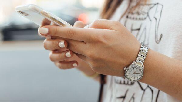 Smartphone, imagen referencial - Sputnik Mundo