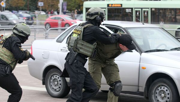 Policía de Bielorrusia - Sputnik Mundo