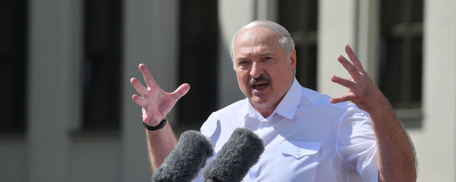Alexandr Lukashenko, presidente de Bielorrusia  - Sputnik Mundo, 1920, 09.08.2021