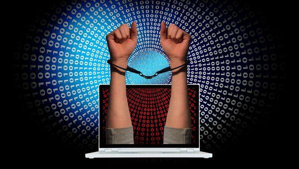 Ciberdelincuencia (imagen referencial) - Sputnik Mundo