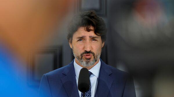 Justin Trudeau, primer ministro de Canadá  - Sputnik Mundo