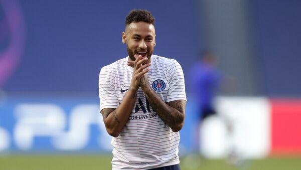 El futbolista brasileño del Paris Saint Germain, Neymar Jr - Sputnik Mundo