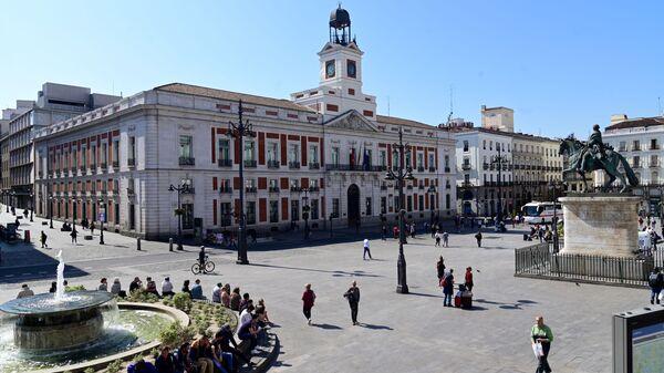 Puerta del Sol en Madrid  - Sputnik Mundo