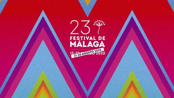 Cartel del 23 Festival de Málaga - Sputnik Mundo
