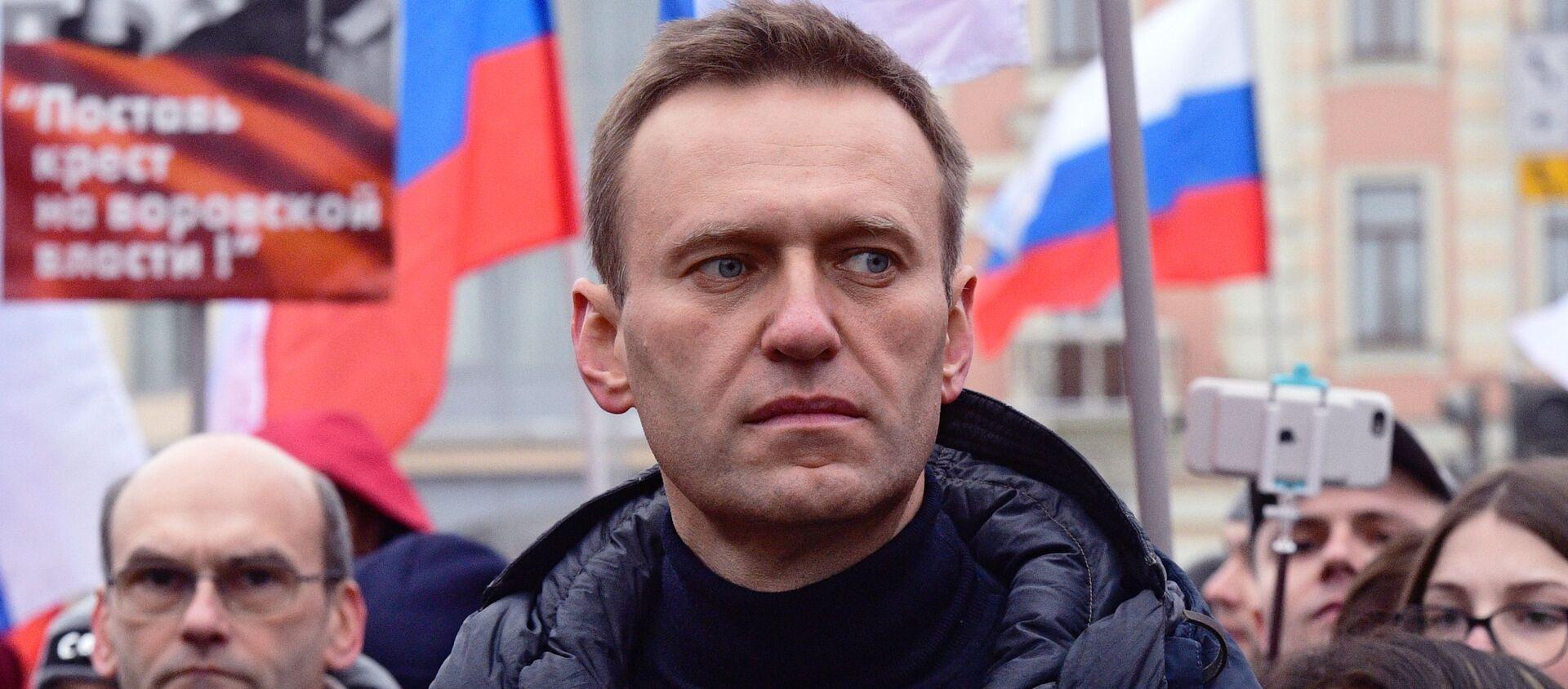Alexéi Navalni, activista opositor ruso (archivo) - Sputnik Mundo, 1920, 23.01.2021