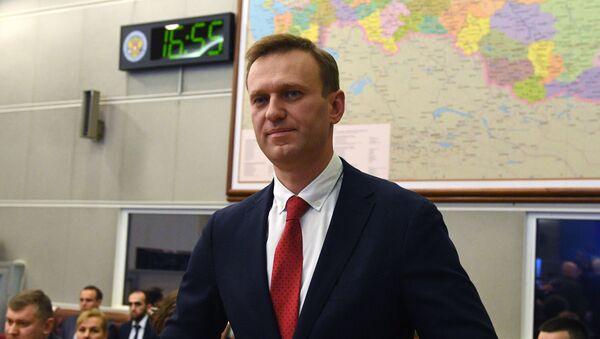 Alexéi Navalni, activista opositor ruso (archivo) - Sputnik Mundo