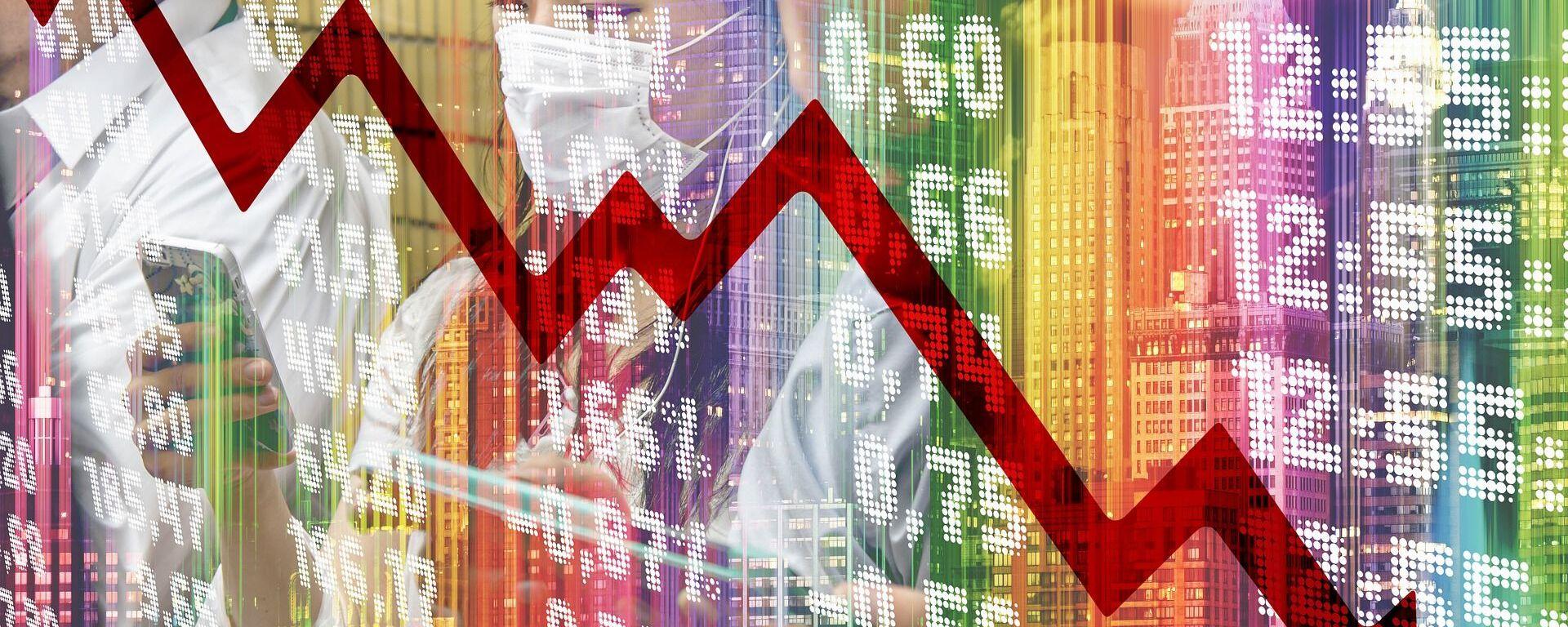 Crisis económica (imagen referencial) - Sputnik Mundo, 1920, 11.02.2021