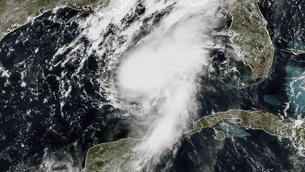 La tormenta tropical Marco - Sputnik Mundo