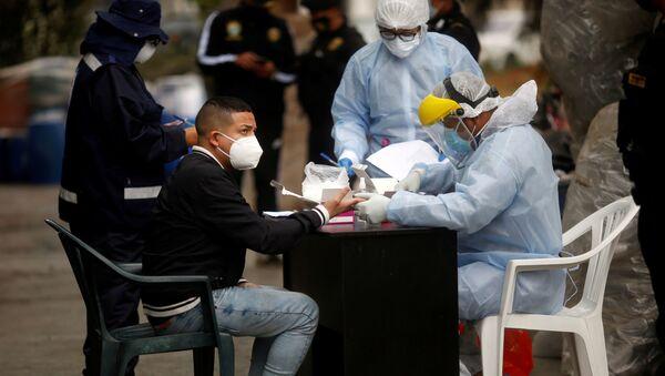 Pandemia de coronavirus en Perú (archivo) - Sputnik Mundo