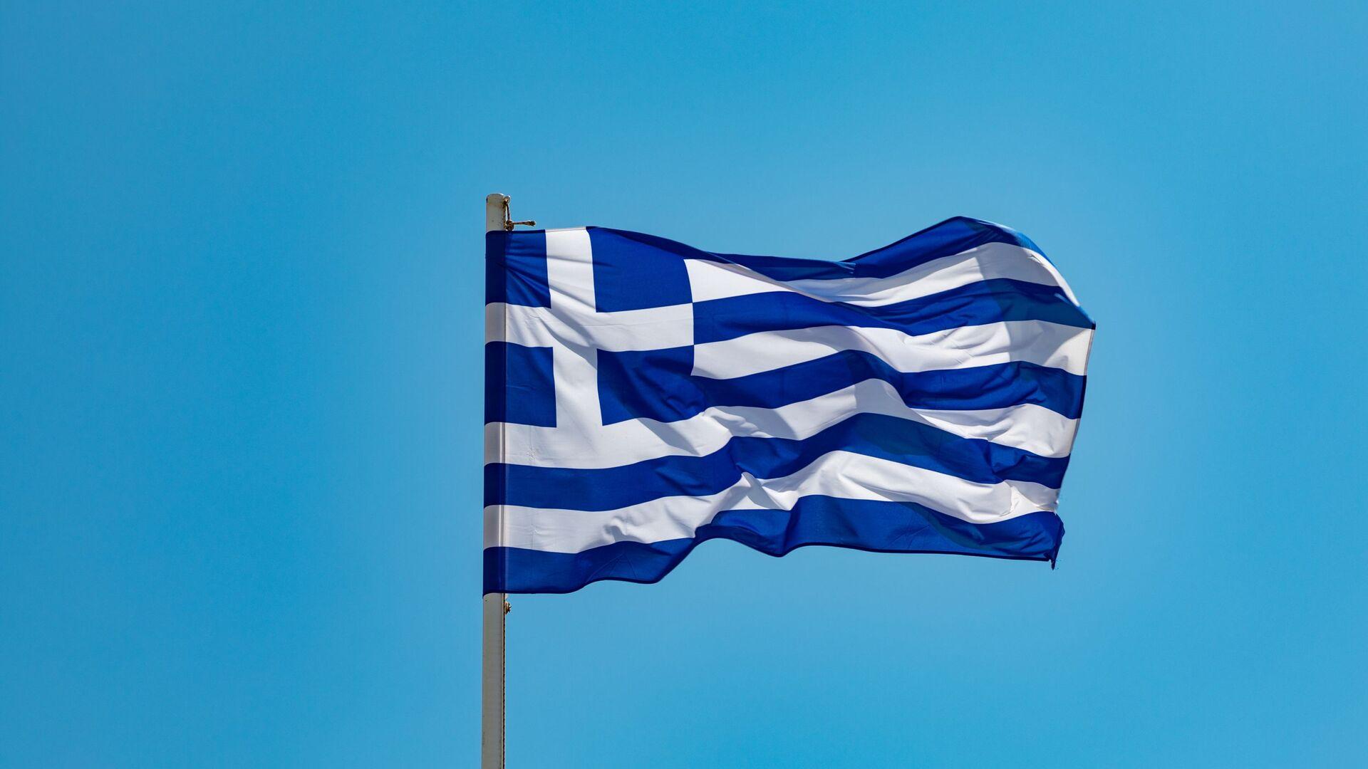 Una bandera de Grecia - Sputnik Mundo, 1920, 04.02.2021