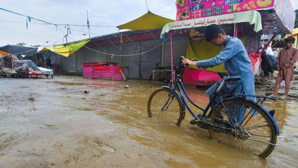 Consecuencias de las inundaciones en Afganistán - Sputnik Mundo