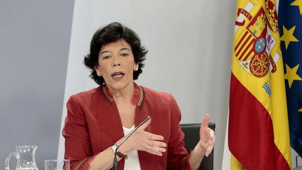 Isabel Celaá, Ministra de Educación de España - Sputnik Mundo