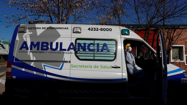 Ambulancia en Buenos Aires - Sputnik Mundo