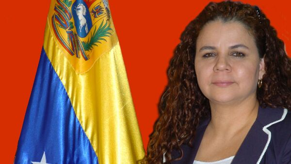 Iris Varela, ministra del Poder Popular para el Servicio Penitenciario - Sputnik Mundo