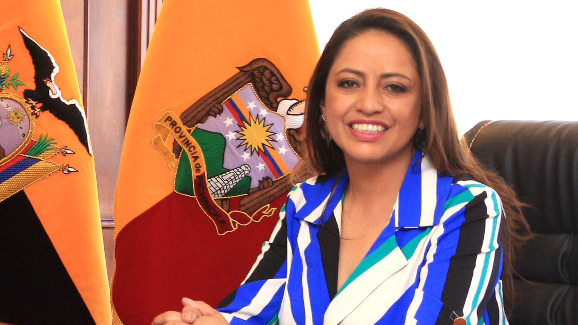 Paola Pabón, prefecta de la provincia ecuatoriana de Pichincha - Sputnik Mundo, 1920, 24.09.2021