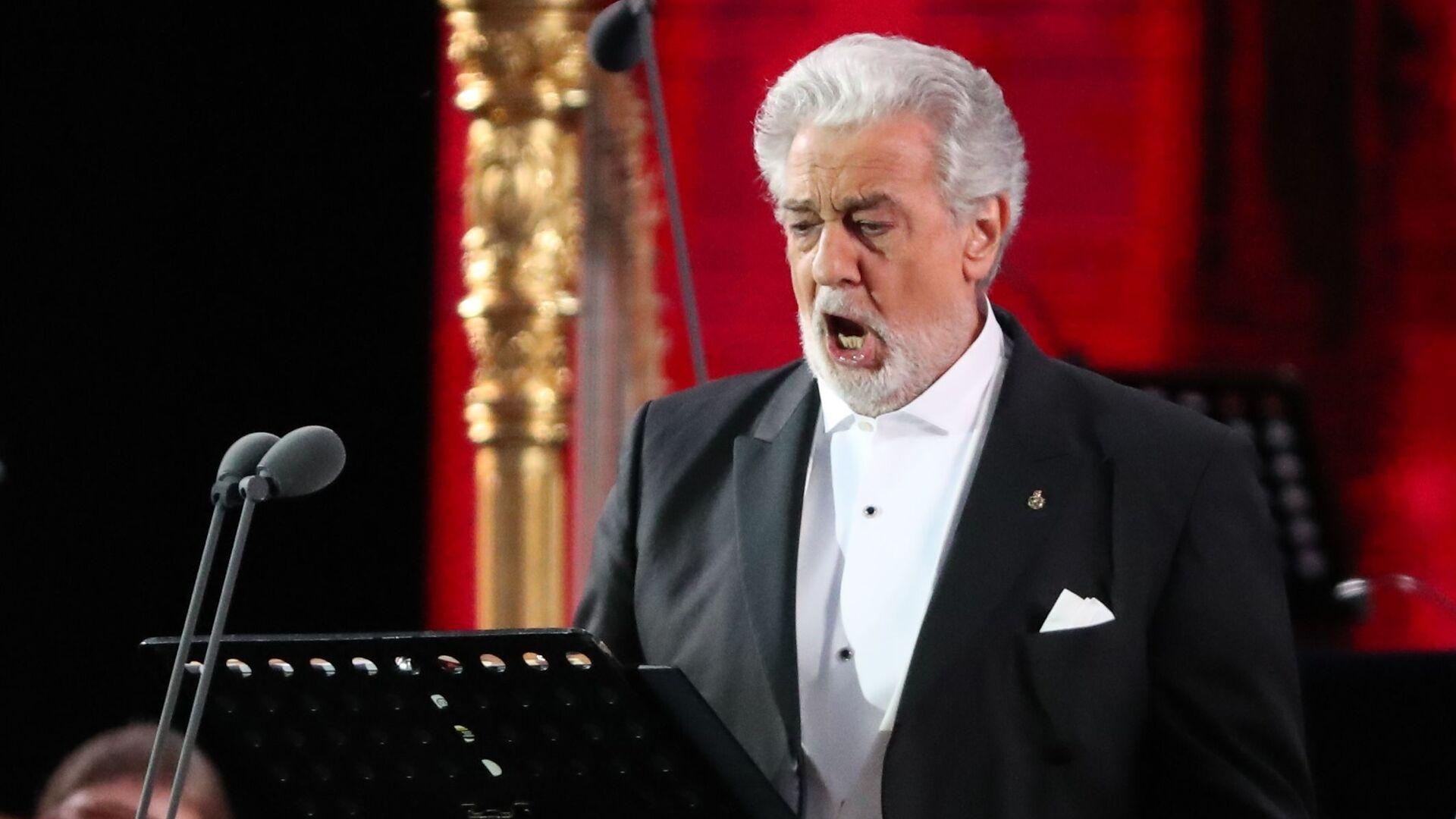 Plácido Domingo, cantante de ópera español - Sputnik Mundo, 1920, 05.03.2021