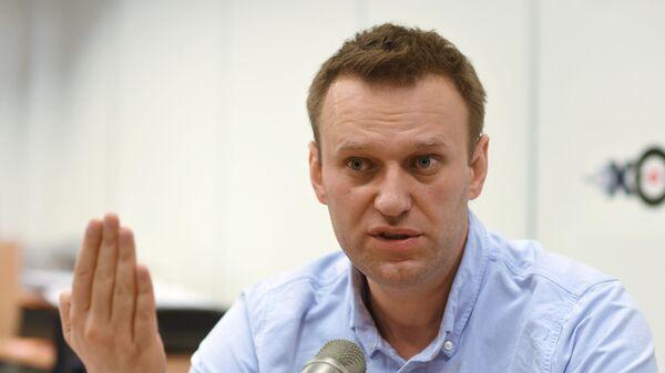 Alexéi Navalni, activista opositor ruso - Sputnik Mundo