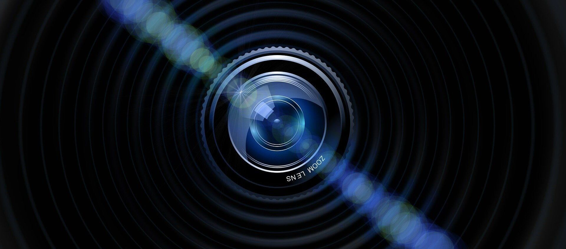 La lente de una cámara (ilustración) - Sputnik Mundo, 1920, 05.09.2020