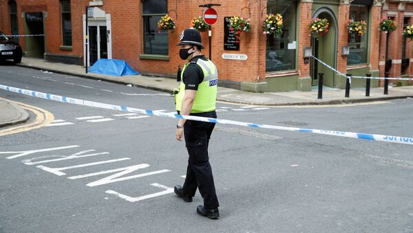 La Policía británica en Birmingham - Sputnik Mundo
