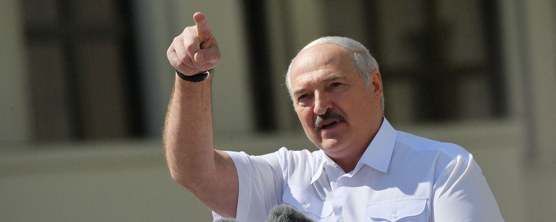 Alexandr Lukashenko, presidente bielorruso - Sputnik Mundo, 1920, 30.07.2021