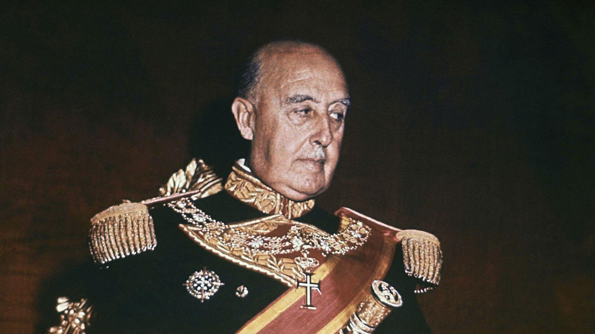 Francisco Franco, dictador español  - Sputnik Mundo, 1920, 21.09.2021