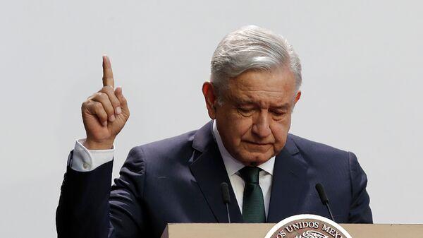 Andres Manuel López Obrador, presidente de México - Sputnik Mundo