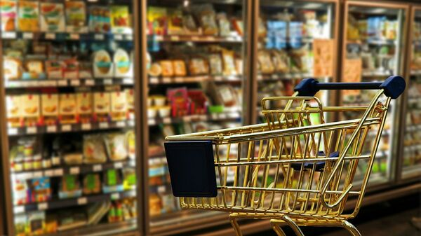 Un supermercado (imagen referencial) - Sputnik Mundo