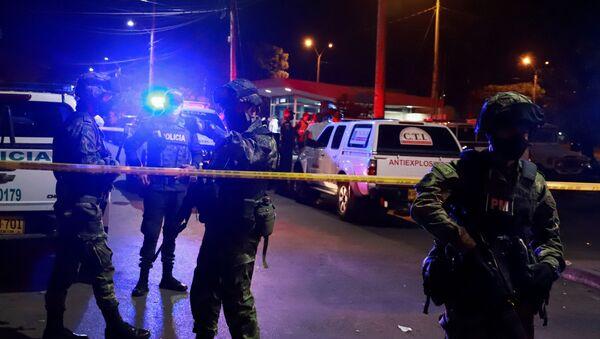 La Policía de Colombia (archivo) - Sputnik Mundo