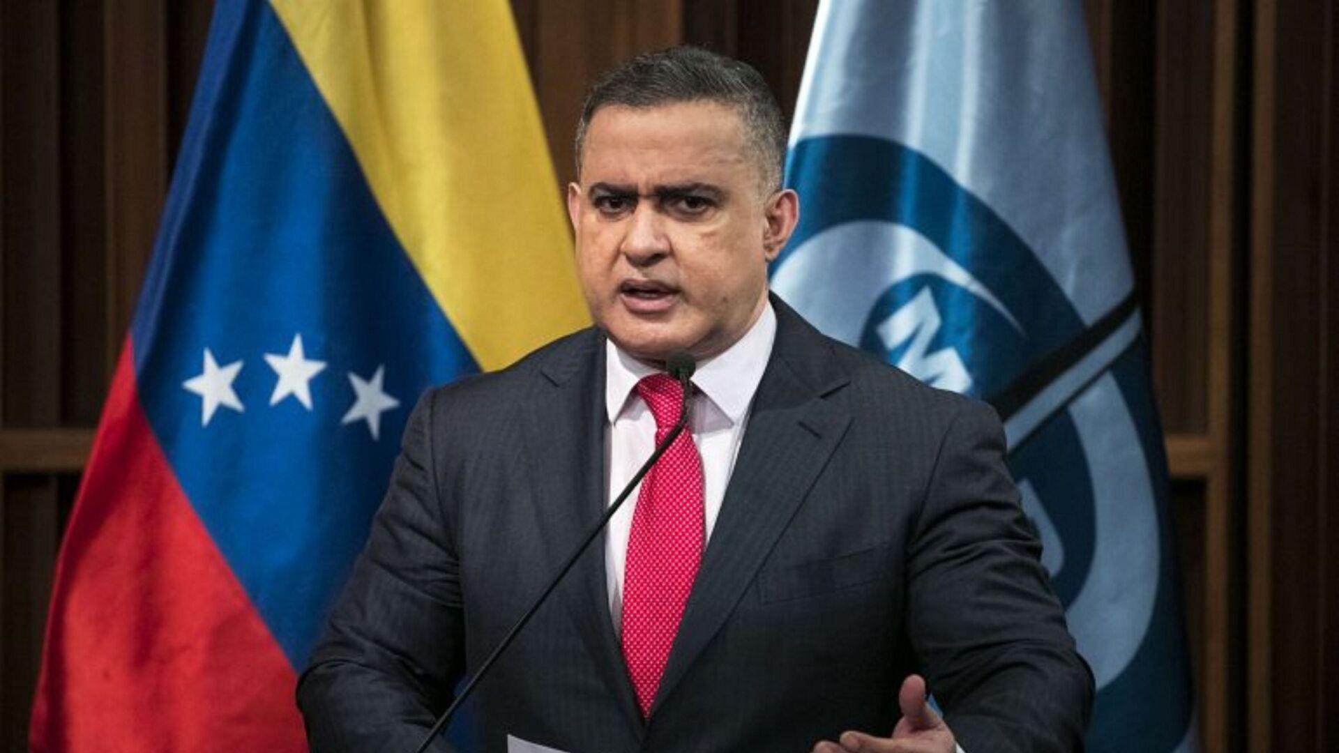 Tarek William Saab, fiscal general de Venezuela - Sputnik Mundo, 1920, 12.10.2021